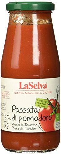 La Selva Passierte Tomaten (Passata di pomodoro), 8er Pack (8 x 425 g)