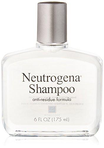 Neutrogena Anti-Residue Shampoo, Gentle Non-Irritating Clarifying Shampoo to Remove Hair Build-Up & Residue, 6 fl. oz (Pack of 6)