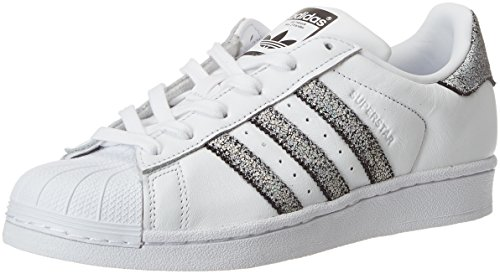 Adidas Women's Superstar Trainers Shoes, White (Footwear White/Supplier Colour/Core Black), 3.5 UK