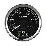 PIVOT ( ピボット ) メーター【DUAL GAUGE DXシリーズ】ブースト カプラーオンタイプ DXB-B