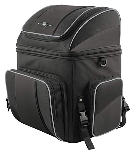 Nelson-Rigg NR-230 Route 1 Destination Backrest Rack Bag, Black