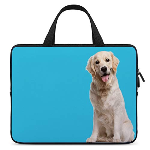 Universal Laptop Computer Tablet,Case,Cover for Apple/MacBook/HP/Acer/Asus/Dell/Lenovo/Samsung,Laptop Sleeve,Color for Dog Mammal Golden Retriever Sporting Group,17inch