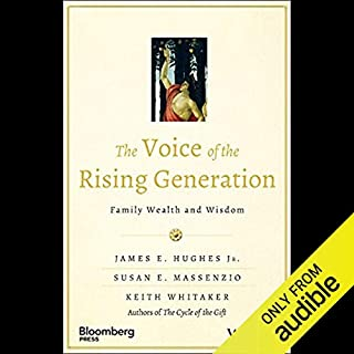 The Voice of the Rising Generation audiobook cover art