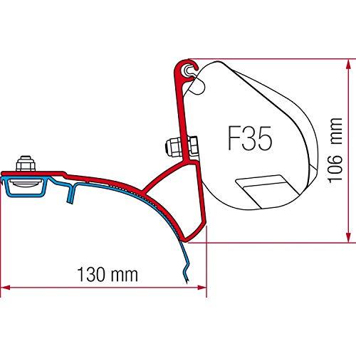 Fiamma Adapter F35 Pro Kit VW T5 Multivan / Transporter (Aluschiene)