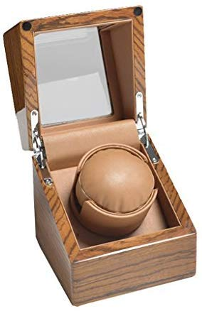 Zxx Caja de Reloj, Caja expositora para Reloj, Mesa giratoria y Caja de Almacenamiento para Joyas, Marco de Mesa y Reloj