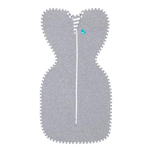 Love To Dream Swaddle UP, Gray, Small, 8-13 lbs, Dramatically Better Sleep, Allow Baby to Sleep in...