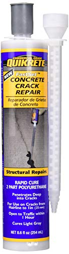 QUIKRETE Companies 865069 8.6 oz Fast Set Concrete Epoxy Repair