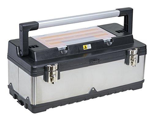 Allit 476420 McPlus Pro M 23 Profi-Werkzeugkoffer, Silber/Schwarz, 550x220x155mm Nutzmaß