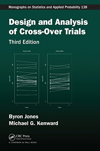 Design and Analysis of Cross-Over Trials (Chapman & Hall/CRC Monographs on Statistics & Applied Prob