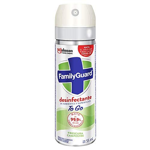 Aerosol Desinfectante marca Family Guard