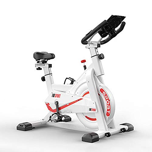 Bicicletas Estáticas Bicicleta Giratoria Estacionaria Ultra Silenciosa con Soporte para Tableta Bicicleta para El Hogar con Cómodo Cojín De Asiento para Entrenamiento Cardiovascular En Casa