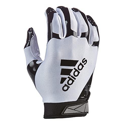 adidas ADIFAST 3.0 Football Receiver Glove, White/Black, 2X-Large