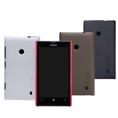Dolextech Custodia guscio di protezione di alta qualità per Nokia lumia 520 100% NILLKIN Back Cover(Bianco)