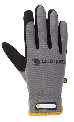 Carhartt Herren Work-Flex Lined Glove Winter-Handschuhe, grau, Small