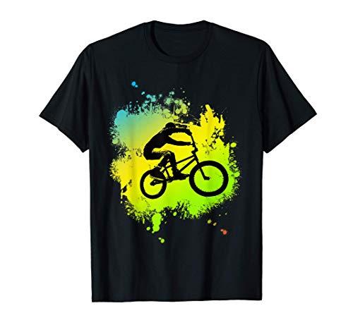 ideal Bmx Mountain Bike Geschenk für Downhill & Fahrrad Fans T-Shirt
