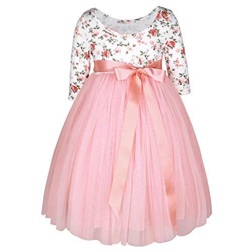 Flofallzique Vintage Floral Dress