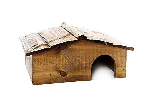 Wooden Hedgehog House - Hibernation Shelter - Hedgehogs Home
