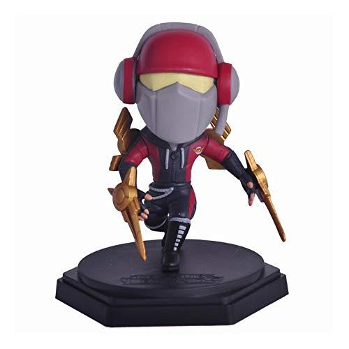 Ly-Figures 5 '' Qposket League of Legends Figur Statue Modell LOL Abbildung (Color : SKT T1- Zed)