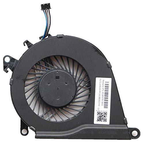 3CTOP Ventilador de refrigeración de CPU de repuesto para HP OMEN 15-AX030TX TPN-Q173 858970-001