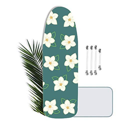 KLKKL Funda Tabla de Planchar Ajustable, XXL, Funda para Tabla de Planchar para Tablas de Planchar de hasta 160 x 60 cm, con 4 tensores