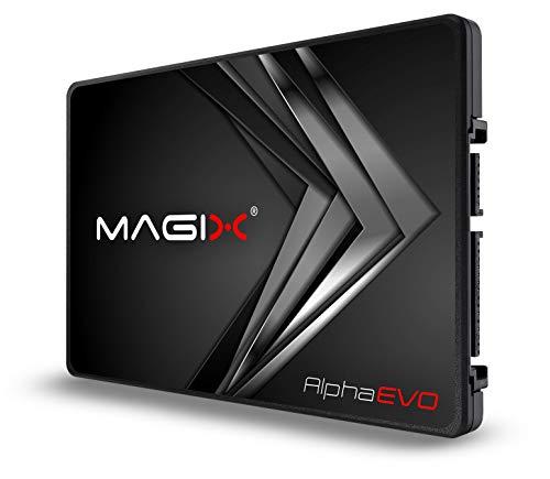 "Magix SSD Alpha EVO 2.5"" SATA, Velocità di Lettura/Scrittura 500/400 MBs, 3D NAND MLC/TLC, INTERNO (960GB)"