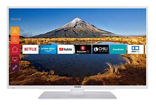 Telefunken XF43G511-W 109 cm (43 Zoll) Fernseher (Full HD, Triple Tuner, Smart TV, Prime Video)