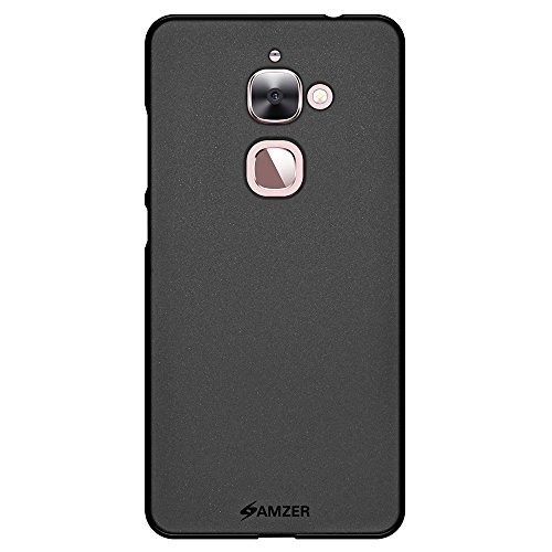 AMZER Pudding Soft Gel TPU Fit Case Cover Skin for LeEco Le 2 - Retail Packaging - Black