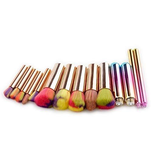 GONGFF Pinceaux de Maquillage Set Power Foundation Ombre à Paupières Blush Beauté Cosmétiques Pinceaux Outils Kits