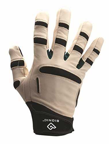 Bionic Men's ReliefGrip Gardening Gloves, Large (Pair) – GM2L, Brown