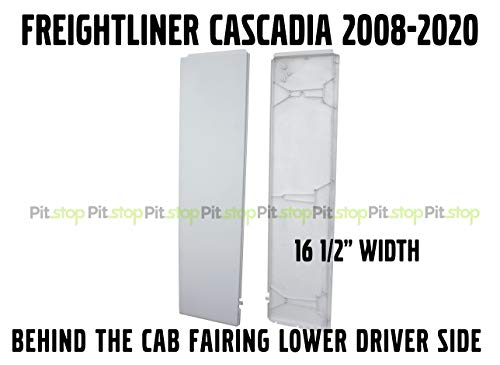Freightliner Cascadia Semi Truck Behind Cab Cabin Fairing Extension Lower Left