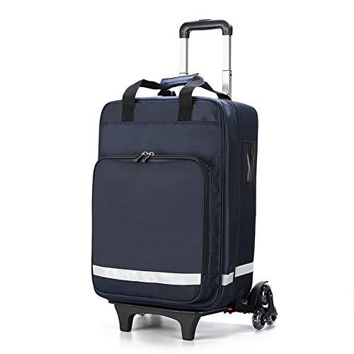 SXFYMWY Valigia Trolley Staccabile Zaino di Pronto Soccorso Panno Impermeabile Oxford Kit di Pronto Soccorso di Emergenza per casa, comunità, Viaggi, Campeggio, Escursionismo e Outdoor