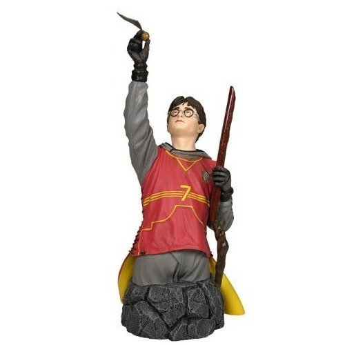 Harry Potter in Quidditch Gear Mini Bust image