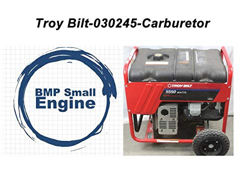 BMotorParts Carburetor Carb for Troy Bilt 5550 8550 Watt Generator # 030245 Briggs &Stratton