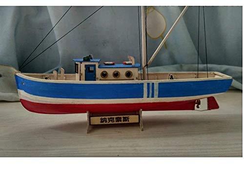 ZNYB Maquetas Barcos Madera Kit Kits de Modelo de Barco Kit de...