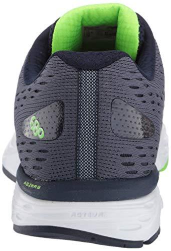 New Balance Men's 680 V6 Running Shoe, Pigment/RGB Green, 11 4E US 6