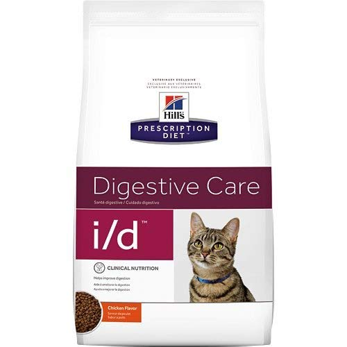 Hill's Prescription Diet i/d Digestive Care Chicken Flavor Dry Cat Food 8.5 lb