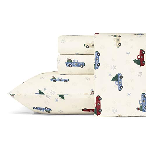 Eddie Bauer Winter Outing Flannel Sheet Set, Queen
