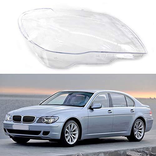 lilili Scheinwerfer Glasabdeckung Autozubehör Fit for BMW 7er E65 E66 2005-2008 Left & Right Scheinwerfer Transparent Lampshades Lampe Shell-Auto-Scheinwerfer-Abdeckung Objektiv Glas (Color : Right)