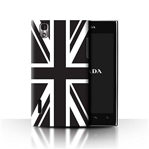 Stuff4 Phone Case/Cover/Skin/LGFL-53HN CC/Great Britain/British Pride Collection Bandera británica LG Prada 3.0/K2/P940