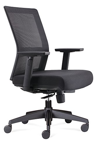 Chairlin Ergonomic Office Chair Mid Back Task Chair Comfortable Home Desk Chair...