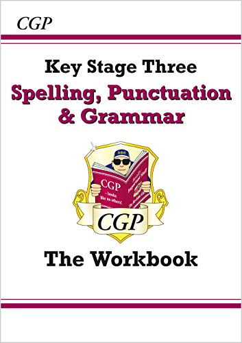 Spelling, Punctuation and Grammar for KS3 - the Workbook (with online edition) (CGP KS3 English)