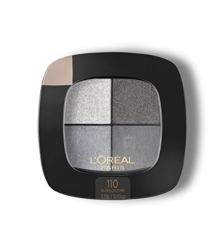 L'Oréal Paris Colour Riche Eye Pocket Palette Eye Shadow, Silver Couture, 0.1...