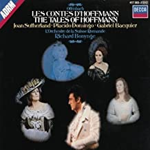Jacques Offenbach: Les Contes d'Hoffmann (The Tales of Hoffmann) (Joan Sutherland, Placido Domingo, Gabriel Bacquier, Huguette Tourangeau, Hugues Cuenod; Orchestre de la Suisse Romande; Richard Bonynge)[Complete opera with complete French texts and English Translations]