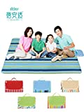CAIYIXIONG Waterproof Beach Blanket Camping Picnic Blanket Wind Beach Tent Foldable Lawn Mat