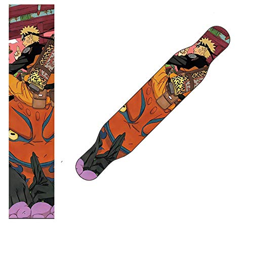 YSTHEZ Skateboard Griptape, Hoja de Cinta de Agarre de patineta 48x10 Pulgadas (26 Estilo), Cinta de Agarre de Scooter, Papel de Lija para rollerboard (122x26cm),J
