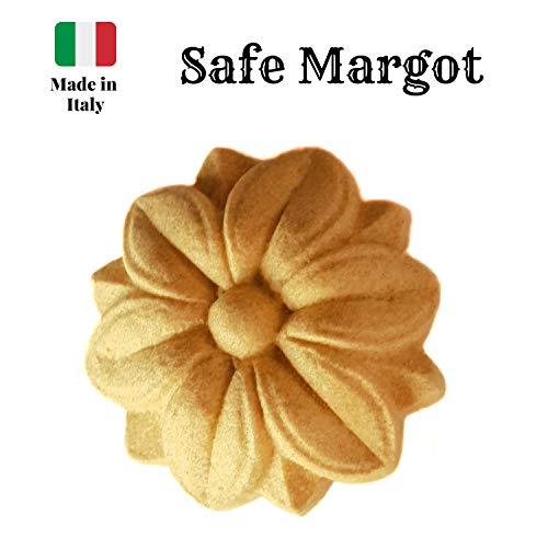 Fregi Safe Margot Fregio Houten pasta, verpakking met 10 manden, geschikt voor de decoratie van meubels, voor alle soorten meubels, voor het decoreren van meubels, voor deuren en keuken, shabby