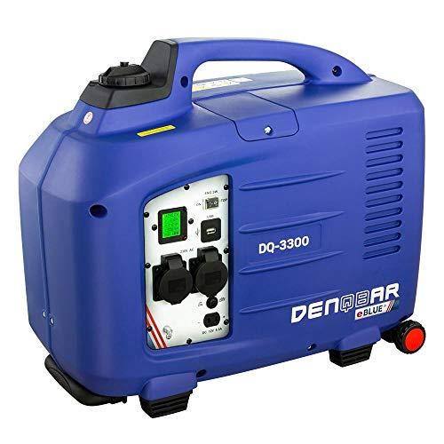 DENQBAR 3,3 kW Inverter Stromerzeuger Notstromaggregat Generator mit eBLUE® Technologie