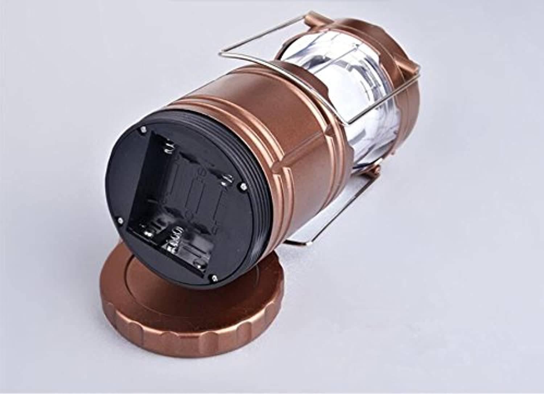 Zll Camping Lampe Solar LED Camping-Lampe Lampe Notfall Lampe Laterne Zelt Teleskop Lampe privaten tragbar Lampen, wiederaufladbar