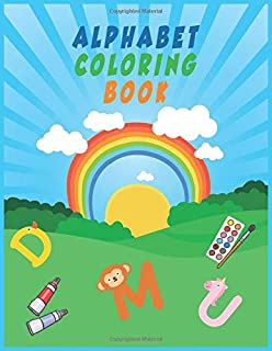 Alphabet Coloring Book: for kids
