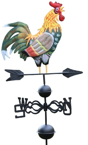 Weathervane - Veleta con gallo y palo...